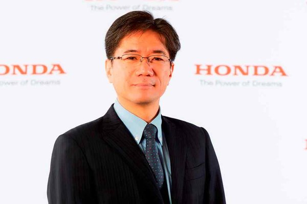 Honda PH new boss Mr. Toshio Takakura