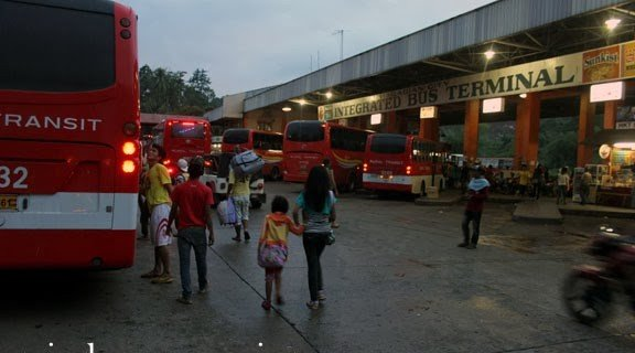 The LTFRB to inspect bus terminals before the Holy Week vacation