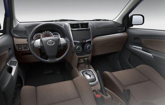 2017 Toyota Avanza interior