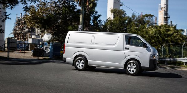 2016 Toyota HiAce side view