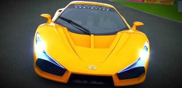 The Aurelio super sports car