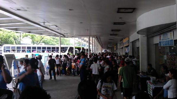The influx of passengers
